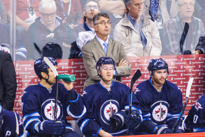 Winnipeg Jets head coach Claude Noel. SHAWN COATES PHOTO